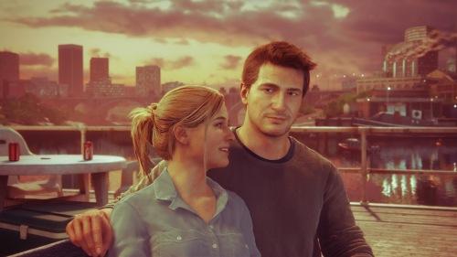 Elena and Nate.